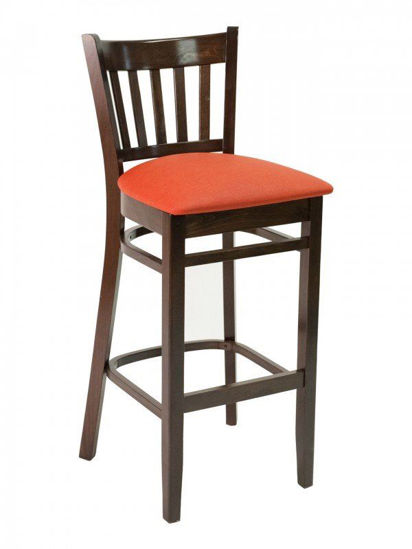 Picture of FLS-04B florida seating wood bar stool