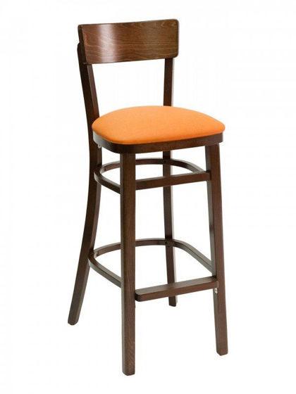 Picture of FLS-08B0 florida seating wood bar stool