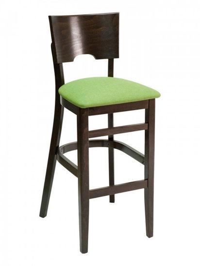 Picture of FLS-11B florida seating wood bar stool