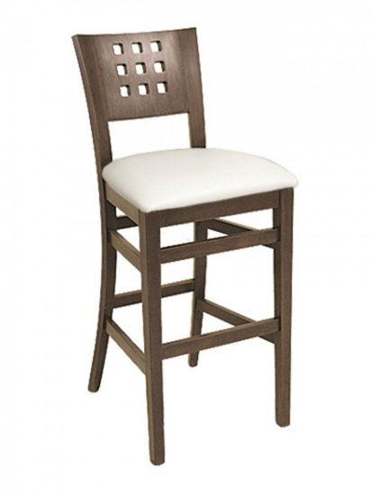 Picture of CN-095B florida seating wood bar stool