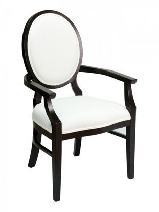 Picture of CN-359A florida seating wood dining restaurant arm chair