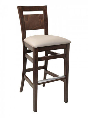 Picture of CN-450B florida seating wood bar stool