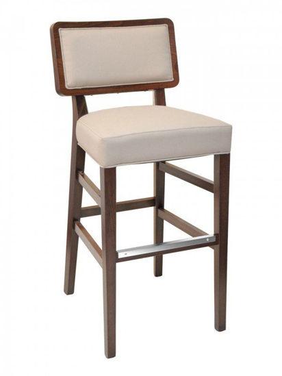Picture of CN-CHRISTINE B florida seating wood bar stool