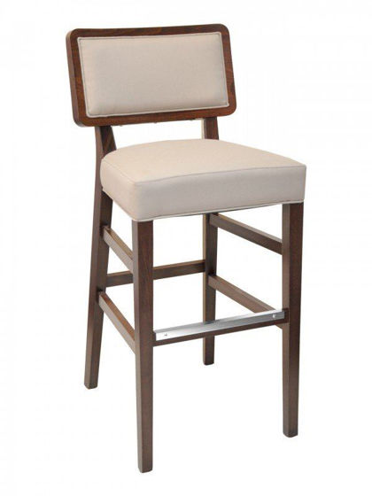 Picture of CN-CHRISTINE B florida seating wood bar stool