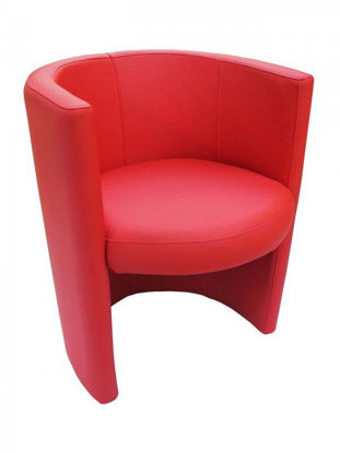 Picture of RING ARMCHAIR – RED florida seating wood dining restaurant chair