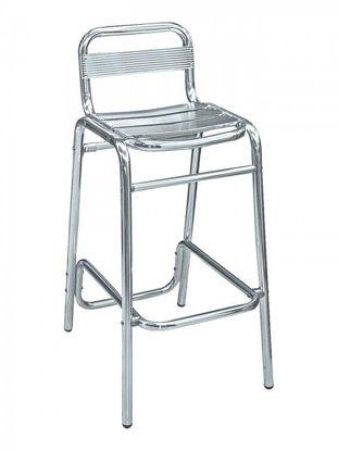 Picture of BAL-51 florida seating aluminum dining restaurant bar stool