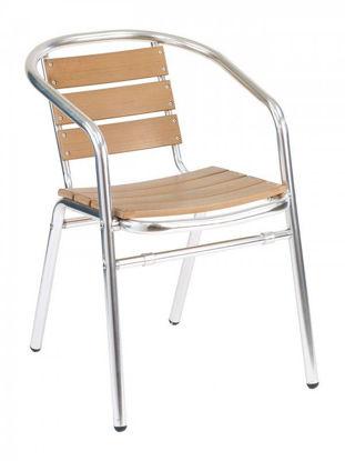 Picture of AL-302 florida seating aluminum dining restaurant chair