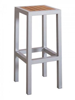 Picture of BAL-5602-BB florida seating aluminum dining restaurant bar stool