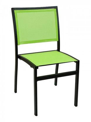 Picture of AL-5624-0 florida seating aluminum dining restaurant chair