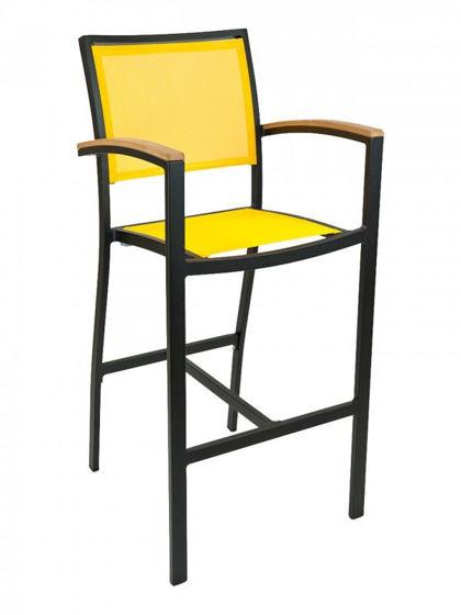Picture of BAL-5624 florida seating aluminum dining restaurant bar stool