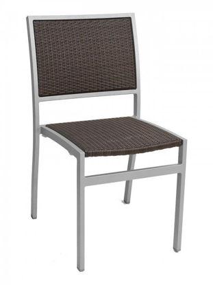 Picture of AL-5625-0 florida seating aluminum dining restaurant chair
