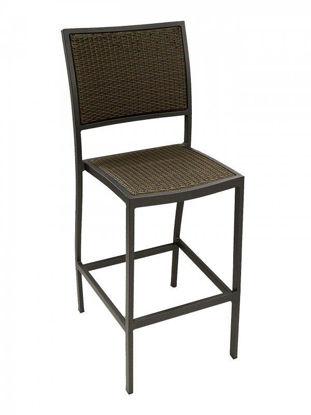 Picture of BAL-5625-0 florida seating aluminum dining restaurant bar stool