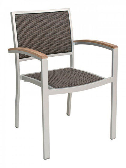 Picture of AL-5625 florida seating aluminum dining restaurant chair