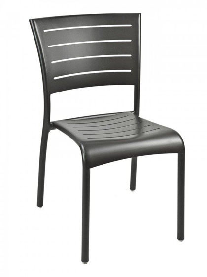 Picture of AL-5000S florida seating aluminum dining restaurant chair