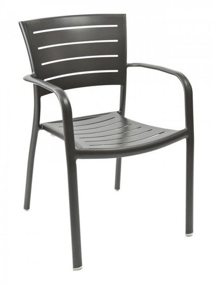 Picture of AL-5000A florida seating aluminum dining restaurant chair