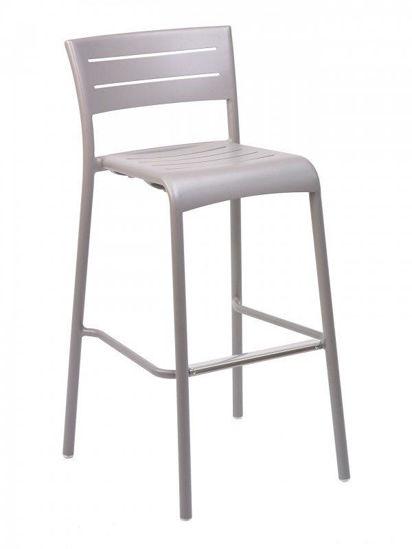 Picture of AL-5000B florida seating aluminum dining restaurant chair