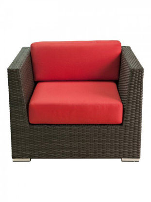 Picture of CRYSTAL BEACH ARM CHAIR WITH CUSHIONS