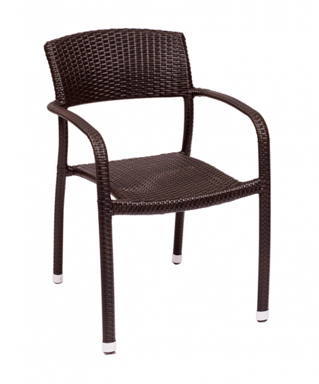 Picture of PH511CJV Regis Arm Chair Java Wicker
