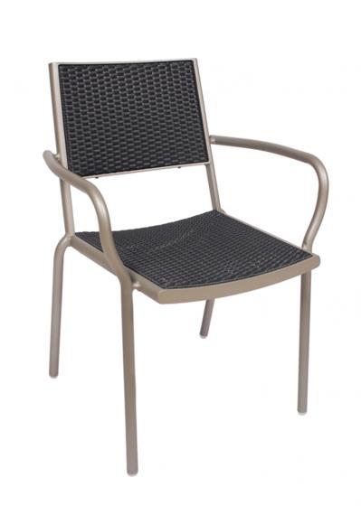 Picture of DV351GRTS Cocoa Beach Arm Chair Titanium/Grey