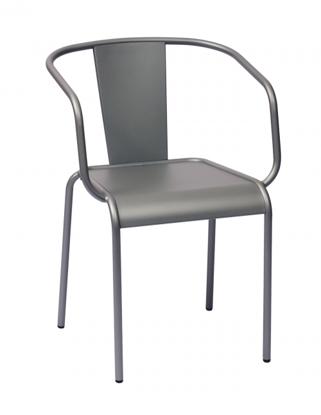 Picture of DV680TS Tara X Arm Chair Titanium Silver