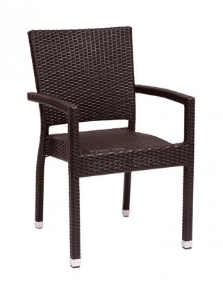 Picture of PH501CJV Monterey Arm Chair Java Wicker