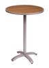 Picture of PH24RTKSVU Longport Round Synthetic Teak Top - Umbrella Hole Optional