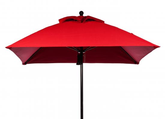 Picture of U6.5FBL-BL Four panel Umbrella, Fiberglass Frame, Aluminum pole