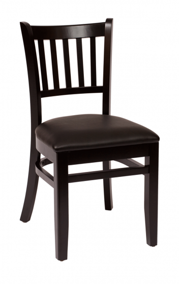 Picture of LWC102BLBLV Delran Side Chair Vinyl Seat