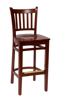 Picture of LWB102BLBLW Delran Barstool Chair Wood Seat