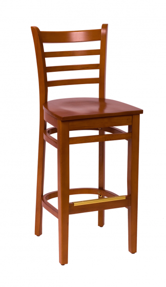 Picture of LWB101CHCHW Burlington Barstool Chair Wood Seat