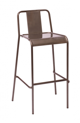 Picture of DV380CL Tara Barstool Chair Industrial Look (Indoor Use Only)