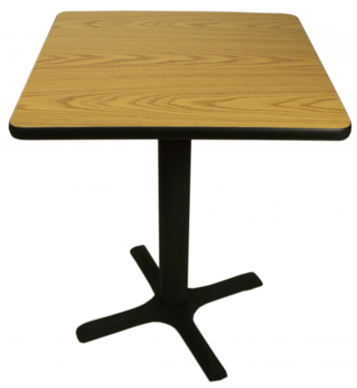 Picture of CM24R Double Sided Laminate Table Tops - Round with Black T-Mold