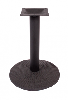 "Picture of TB-TR304 Travis 30"" Round Base 4"" Column"