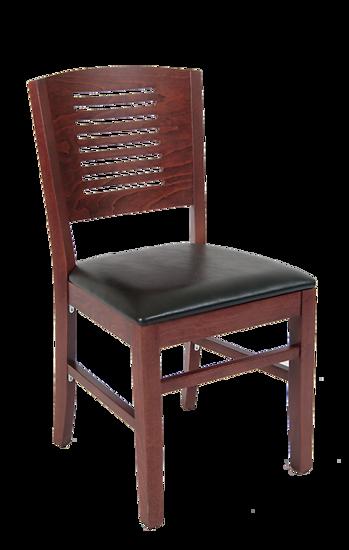 Picture of ERP-B1095 Beechwood Multi Slat Series Back Restaurant Chair