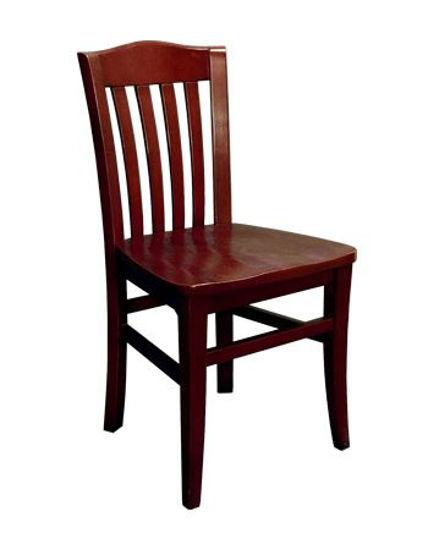 Picture of ERP-B1030 Beechwood Vertical Slat Chair