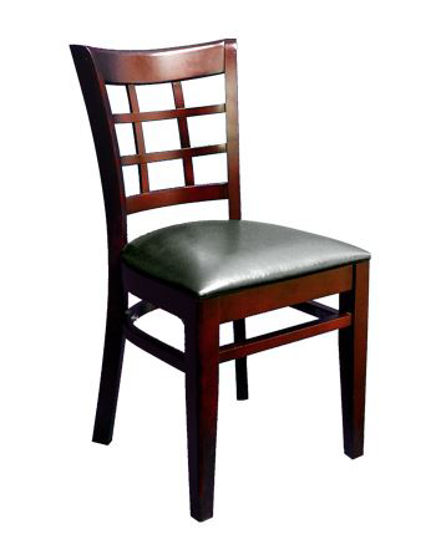 Picture of ERP-B1025 Beechwood Window Back Wood Chair