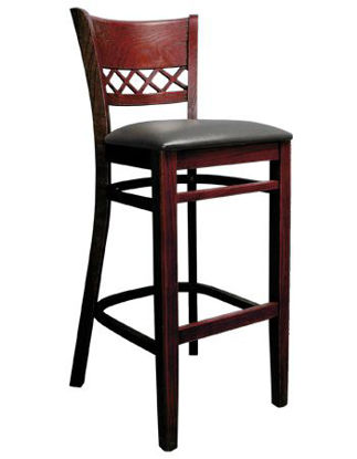 Picture of ERP-B1031-BS Lauren Beechwood Barstool