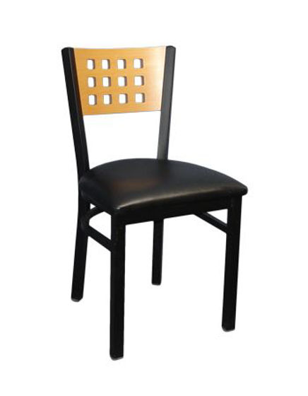 Picture of ERP-171 Lattice Back Metal Chair