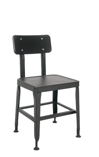 Picture of ERP-127 Steel Chair in Black Finish