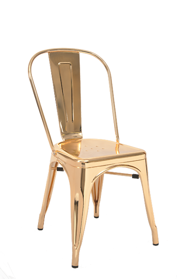 Picture of ERP-223 Steel Chair in Gold Finish