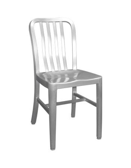 Picture of ERP-27 Aluminum Chair w/ Slat Back