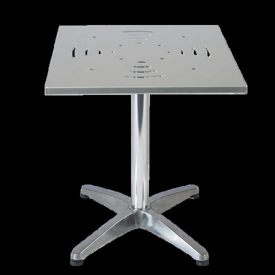 Picture of ERP-ALM-SQUARE Aluminum Table, SQUARE