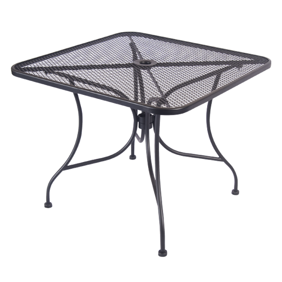 Picture of ERP-OT-SQUARE Wrought Iron Table, Square or Rectangle