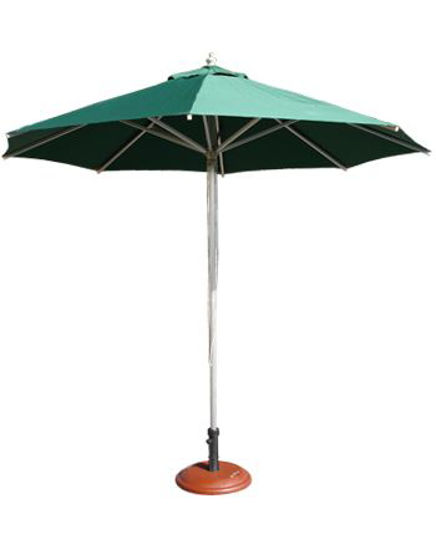 Picture of ERP-UMB-GRN Aluminum Patio Umbrella, Green