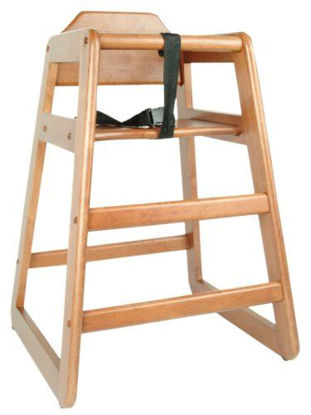 Picture of ERP-HC-C Wooden High Chair, C