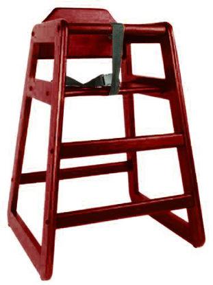 Picture of ERP-HC-DM Wooden High Chair, DM
