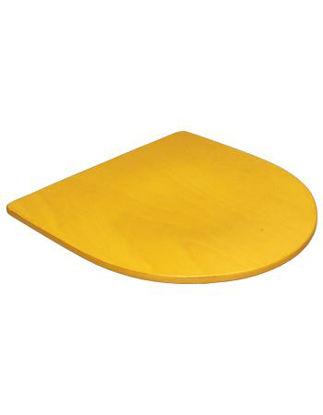 Picture of ERP-B70-GD Veneer Seat , Golden Oak