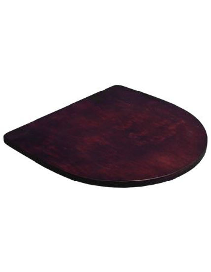 Picture of ERP-B70-DM Veneer Seat , Dark Mahogany