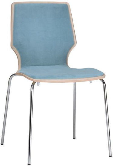 Picture of S-1081 Mingja Side Chair Italian Collection 2