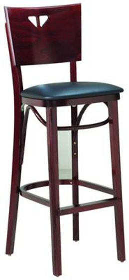 Picture of MJ-308M Mingja Classic 1 Barstool Chair